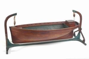 Kūdikio lovytė - valtis
