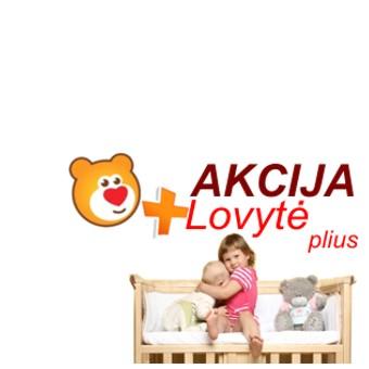 Vaikiškos lovytės Akcija