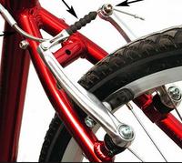Balansiniai dviratukai su stabdžiais