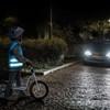 Balansinis dviratukas naktį